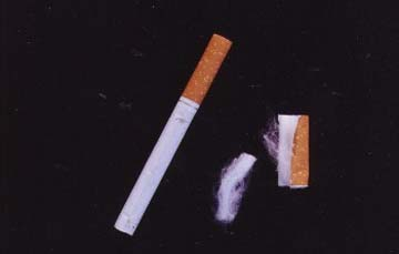 how to make cotton cigarette filters