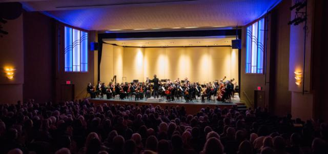 Richmond Symphony performing in Jarman in 2017