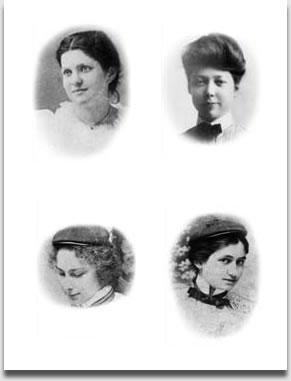 The founders of the Kappa Delta