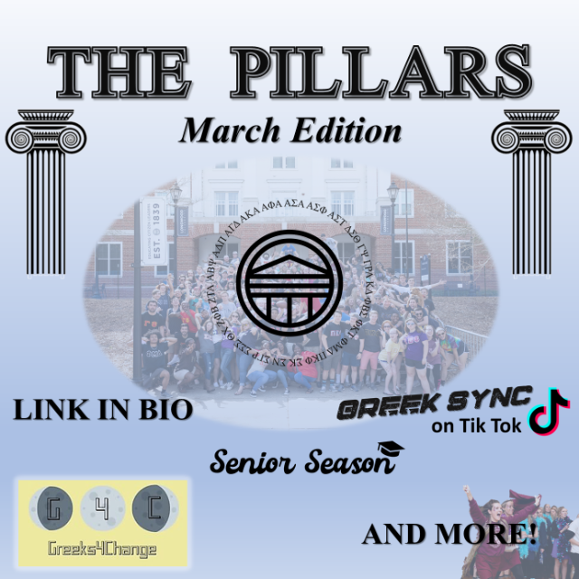 The Pillars March Edition