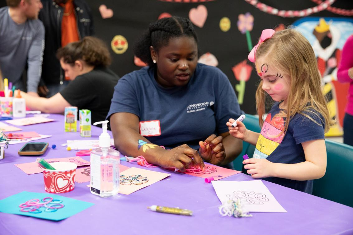 LCVA Valentines Family Workshop