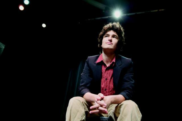 Aaron Burstein '19 started his own small theater company in Lynchburg and turned a profit on his first show.