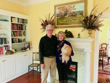 Greg Wolfrey and Betty Wolfrey '71 recently moved to Farmville.