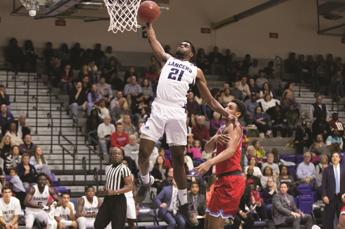 The performance of players including JaShaun Smith '20, a sociology major, has packed fans into Willett Hall. (Photo courtesy of Mike Kropf '14)