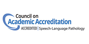 Council on Academic Accreditation - Speech Language Pathology Accreditation Badge