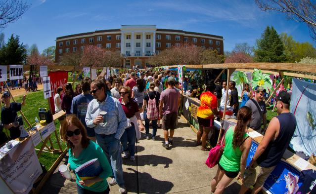 Spring Weekend Booths