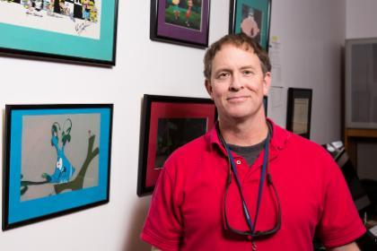 Tuck Tucker brings valuable experience to the new graphic and animation design major
