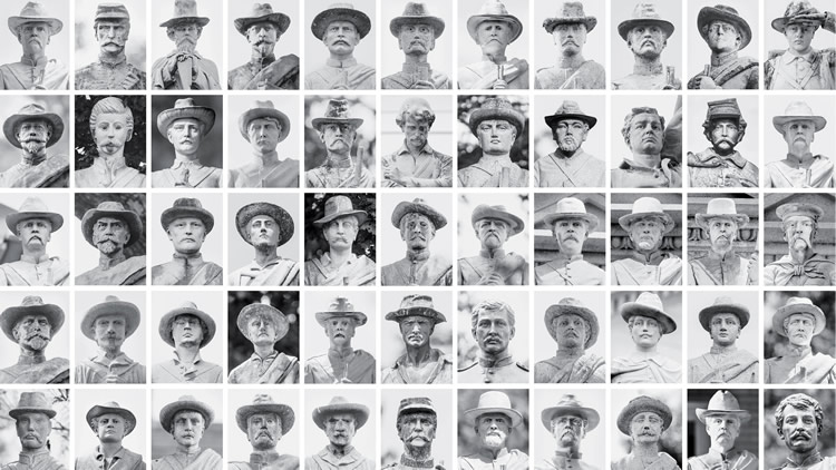 Photography professor Michael Mergen captured nearly every Civil War monument in Virginia that depicted a soldier.
