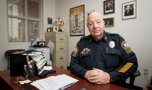 Col. Robert Beach, Longwood Chief of Police