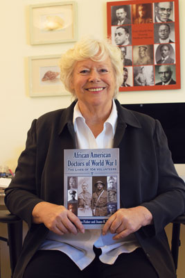 Joann Buckley '66 is the co-author of African American Doctors of WorldWar I:The Lives of 104 Volunteers