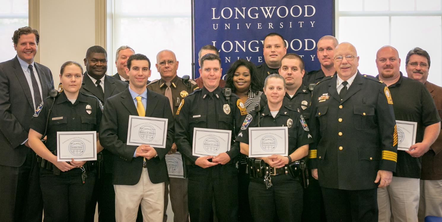 Honorees at Police awards ceremony