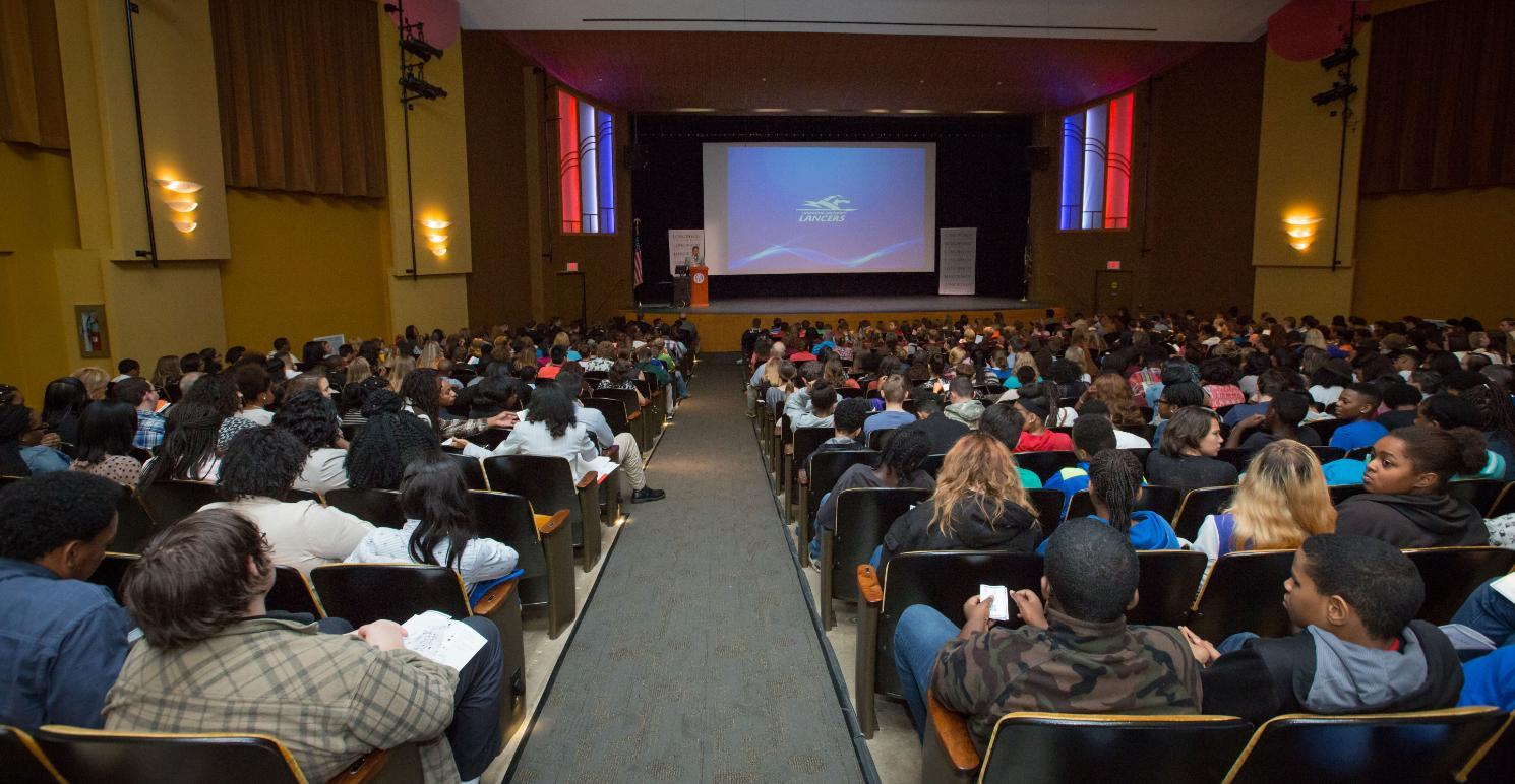 The 2016 Citizenship Summit brought more the 600 middle and high school students to campus