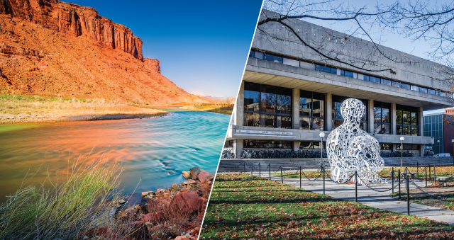 Two new Brock Experiences will take Longwood students to Boston and the Colorado River to study how the arts shape a community and who has valuable access to water.
