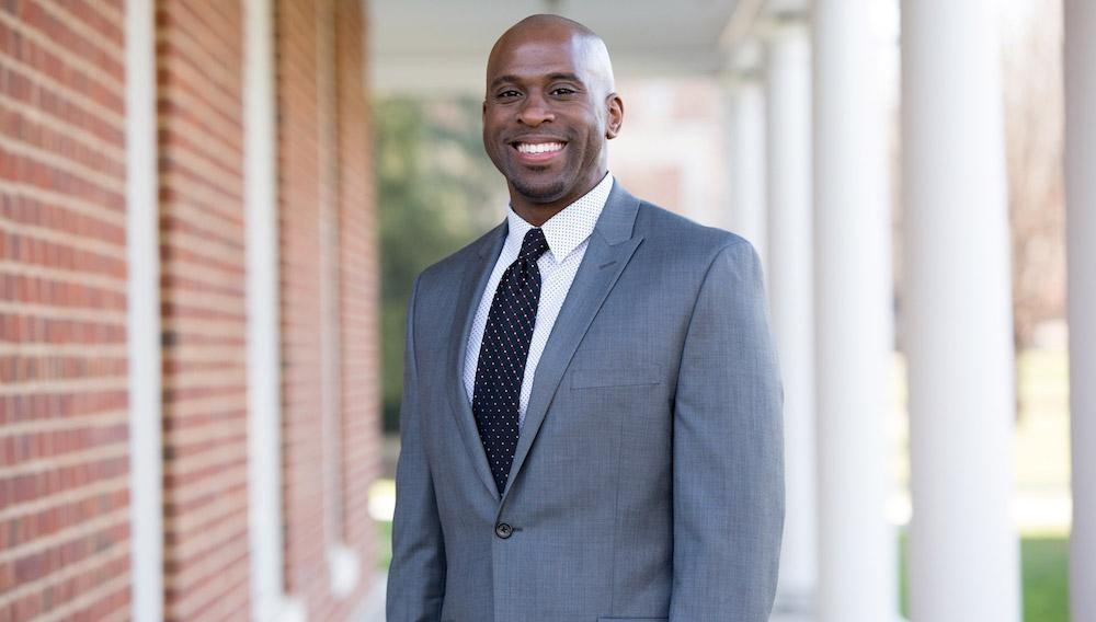 Jason Faulk, dean of admissions