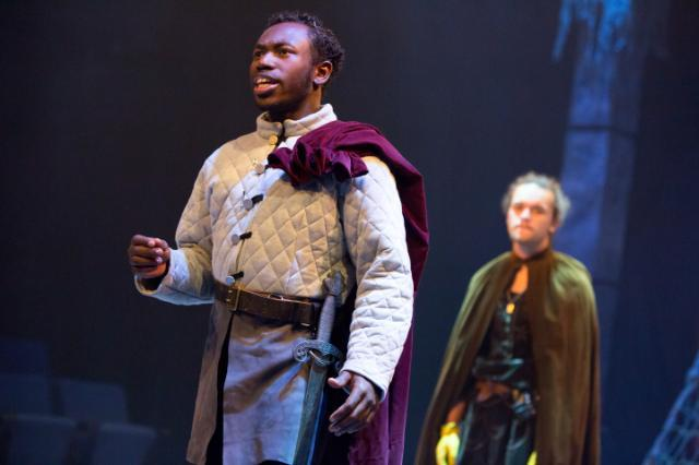 Scene from Longwood's production of Macbeth