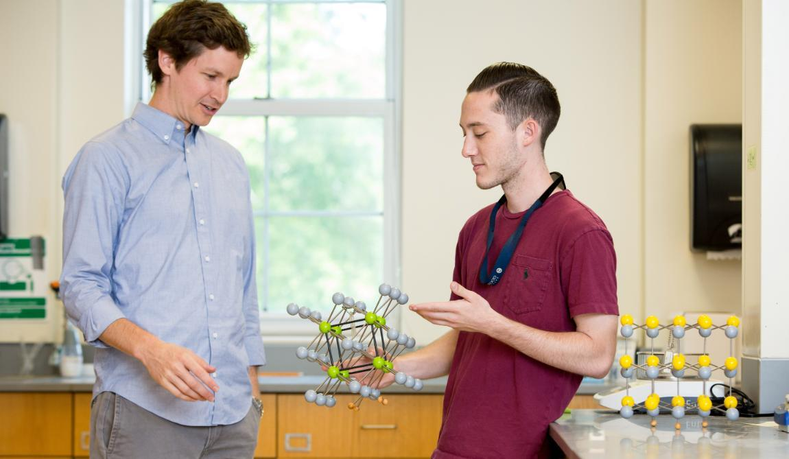 Dr. Benjamin Topham and Dr. Benjamin Topham discuss a molecule