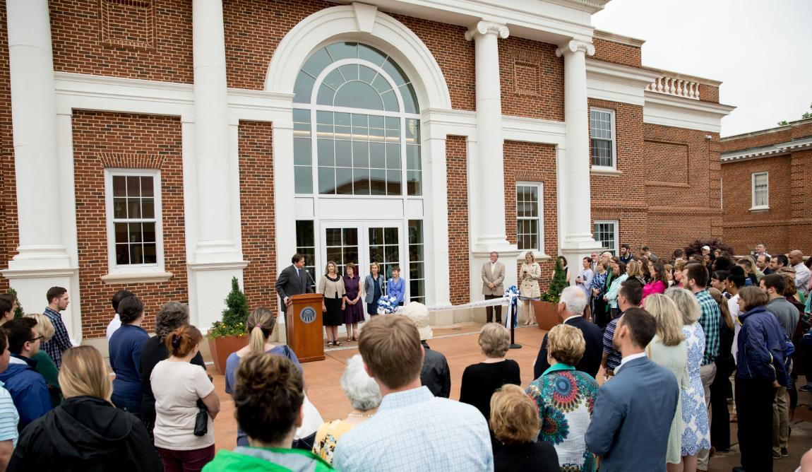Brock Hall Opening Ceremony