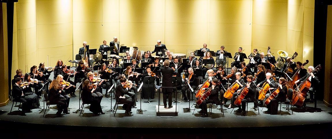 Richmond Symphony performing at Longwood University