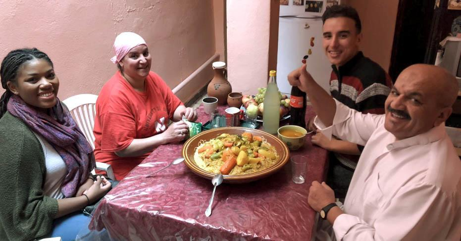 Graves, a 2017 graduate of Longwood, served as a Peace Corps volunteer in Morocco.
