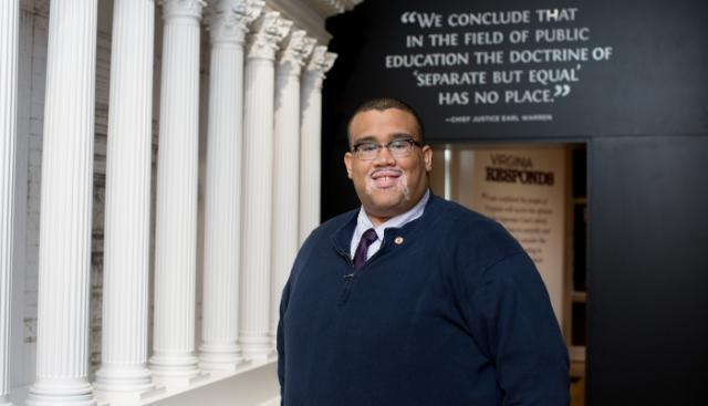 Cameron Patterson '10, executive director of the Moton Museum
