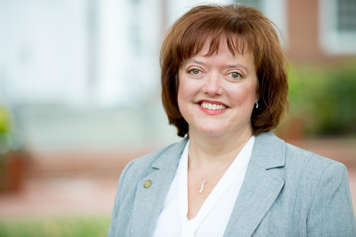 Sheri McGuire '91, Executive Director of the Longwood Small Business Development Center