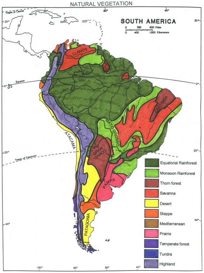 Physiographic Map Of Latin America America Map - Physiographic map of the united states