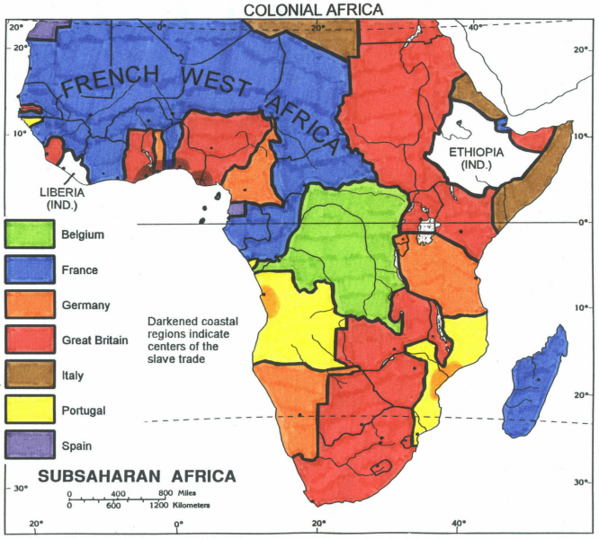 Map Of Africa Vegetation.Dh3