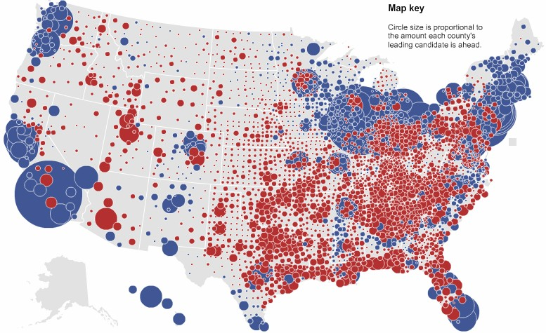 above two maps courtesy new york times elections nytimes com 2008 results president map html