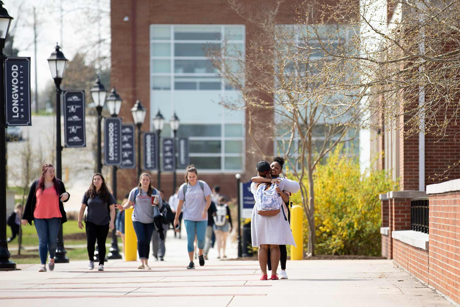 Brock Commons is the highly trafficked pedestrian thoroughfare through the center of campus—a corridor that connects academic, student and residence life. It's only an eight-minute walk from the High Street entryway to the ball fields on the south end of campus.