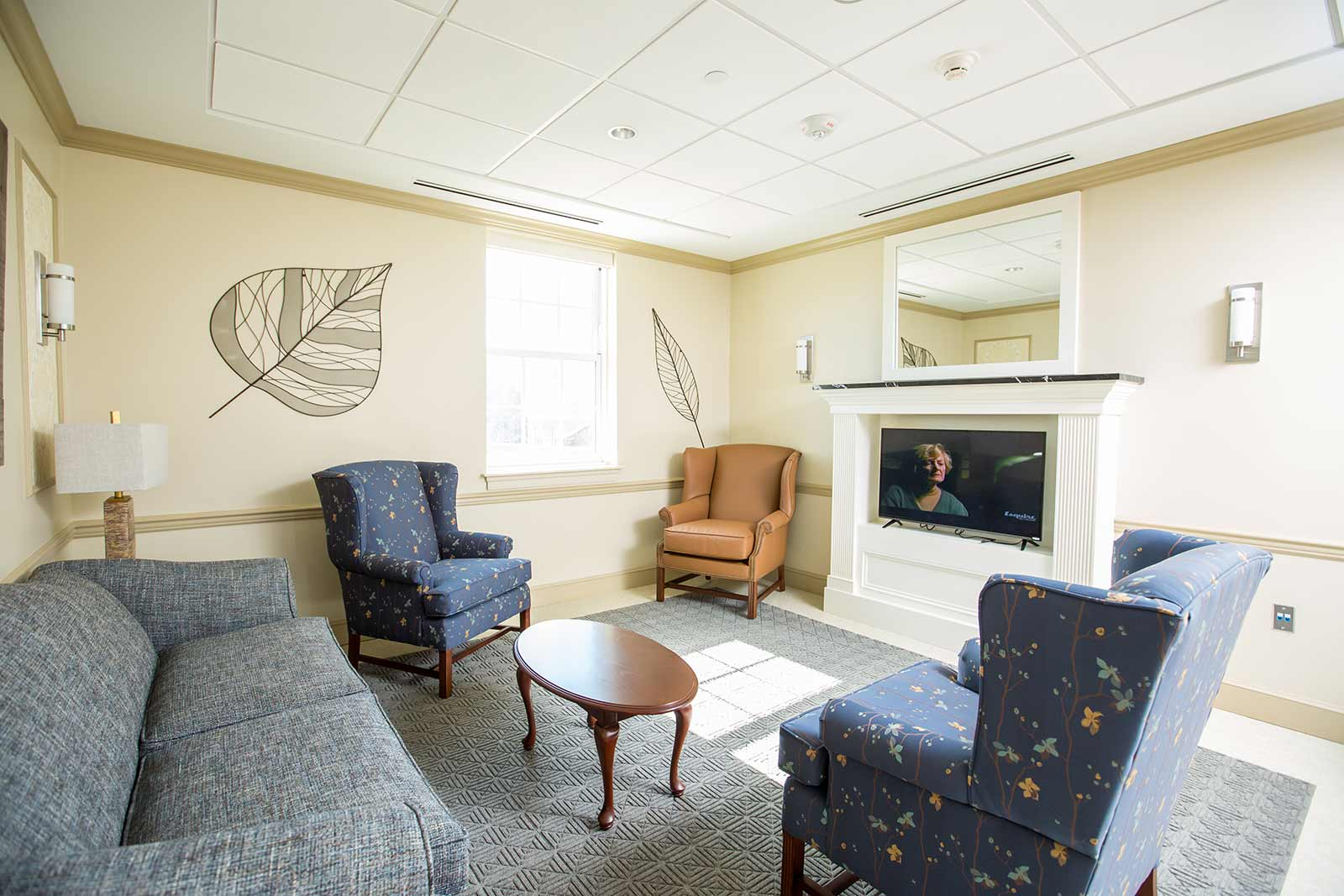 Common areas in residence halls give students the perfect spot for in-depth conversations—or to binge watch an epic season of your favorite show on Netflix.