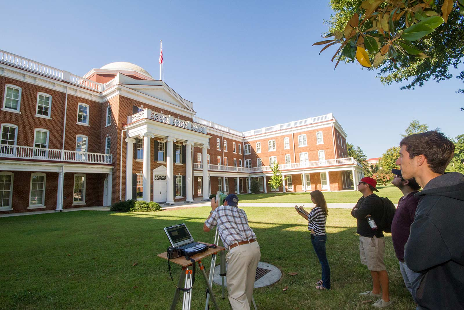 Ruffner Hall is the heart of Longwood. Under its gleaming gold Rotunda sits another symbol of campus, our patron hero Joan of Arc, who has come to symbolize the citizen leadership we all strive for.