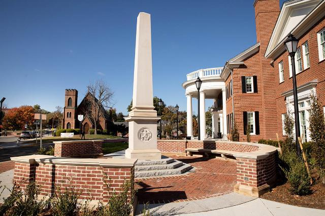 The Farmville Freedom Monument, unveiled in 2018, celebrates the consequential history of Farmville and its surrounding communities.