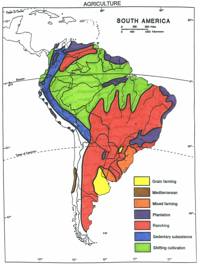 Colonial South America Map.Dh3